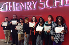 Seven members of the Henry Schein Management Support team earn their AMS accreditation. Congratulations!